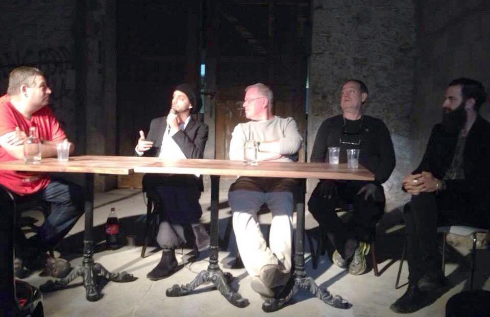 עידן רייכל, אבישי כהן, דובי לנץ, אשר ביטנסקי, ברק ויס ברב שיח על תעשיית המוסיקה הישראלית