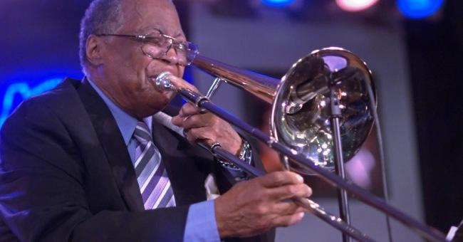 ראיון עם קרטיס פולר חלק שני טרומבון ג'אז דיזי גילספי ווינטון מרסליס קולטריין