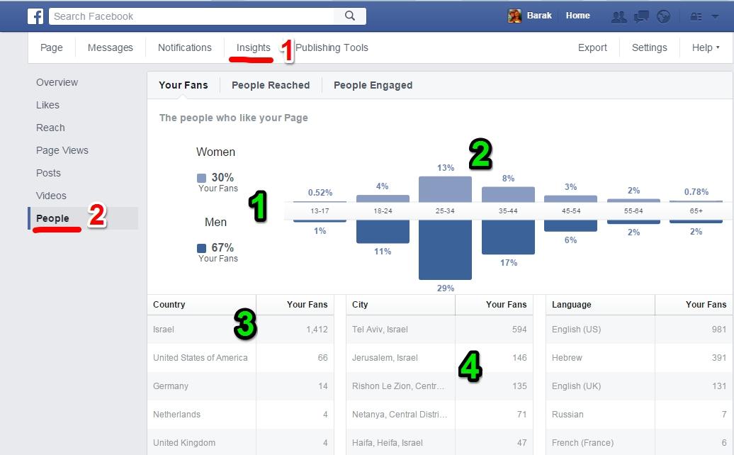 ה-Insights: כלי פשוט להיכרות עם הקהל שלכם