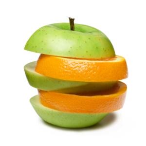 תפוזים ותפוחים. אל תשוו בין חלון ראווה של אחרים למאחורי הקלעים שלכם